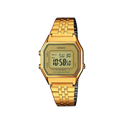 Reloj Casio Collection LA680WEGA-9ER Mujer Esfera Dorada Resina