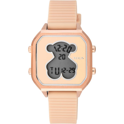 Reloj Tous 100350395 D-BEAR TEEN SQUARE IPRG SILICONA NUDE Mujer