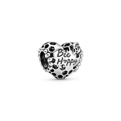 Charm Plata Pandora 798769C00 Bee Happy